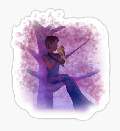Song of the Wind Sticker