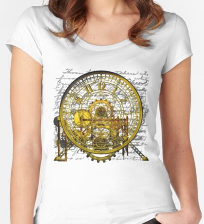 Vintage Time Machine #1B Fitted Scoop T-Shirt