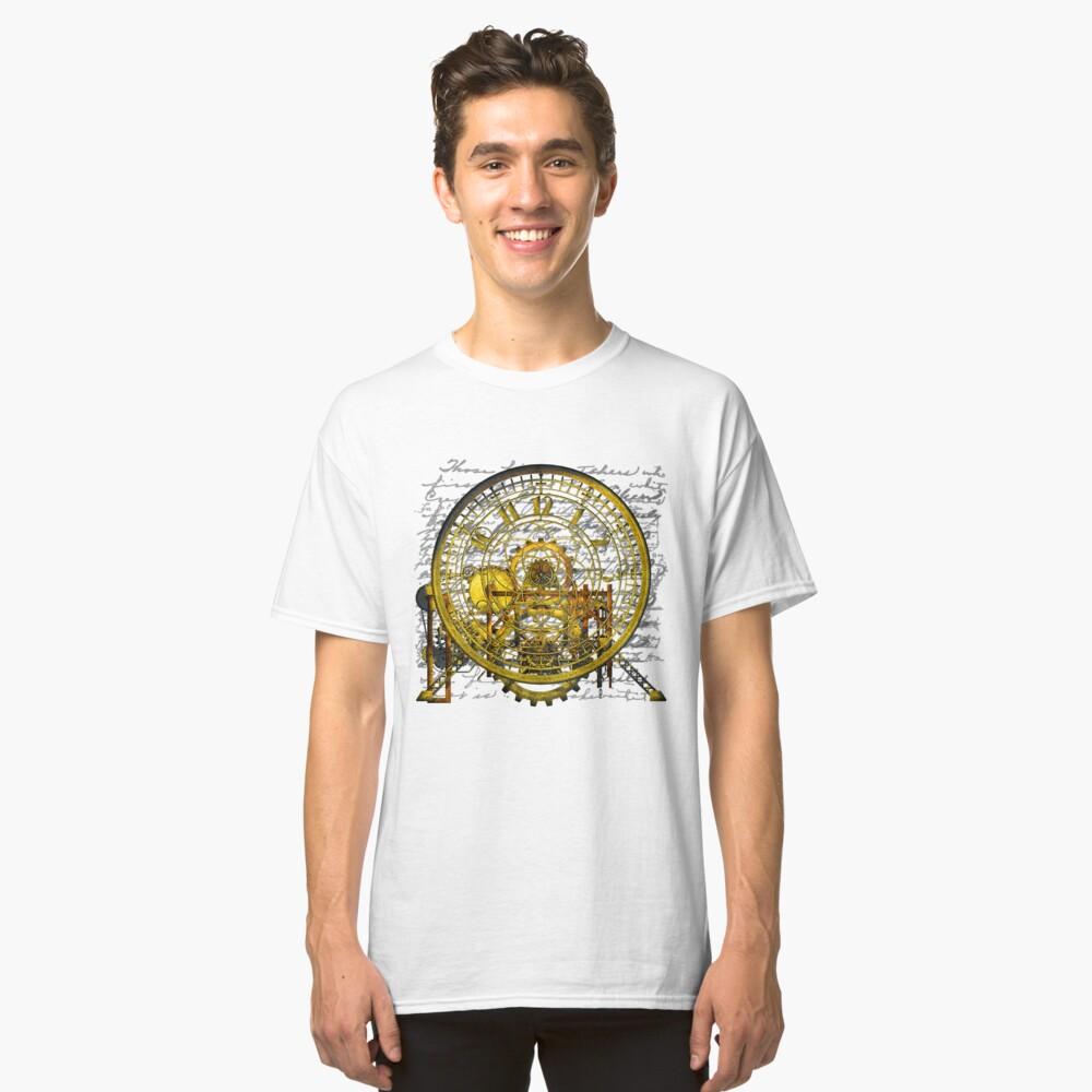 Vintage Time Machine #1B Classic T-Shirt Front