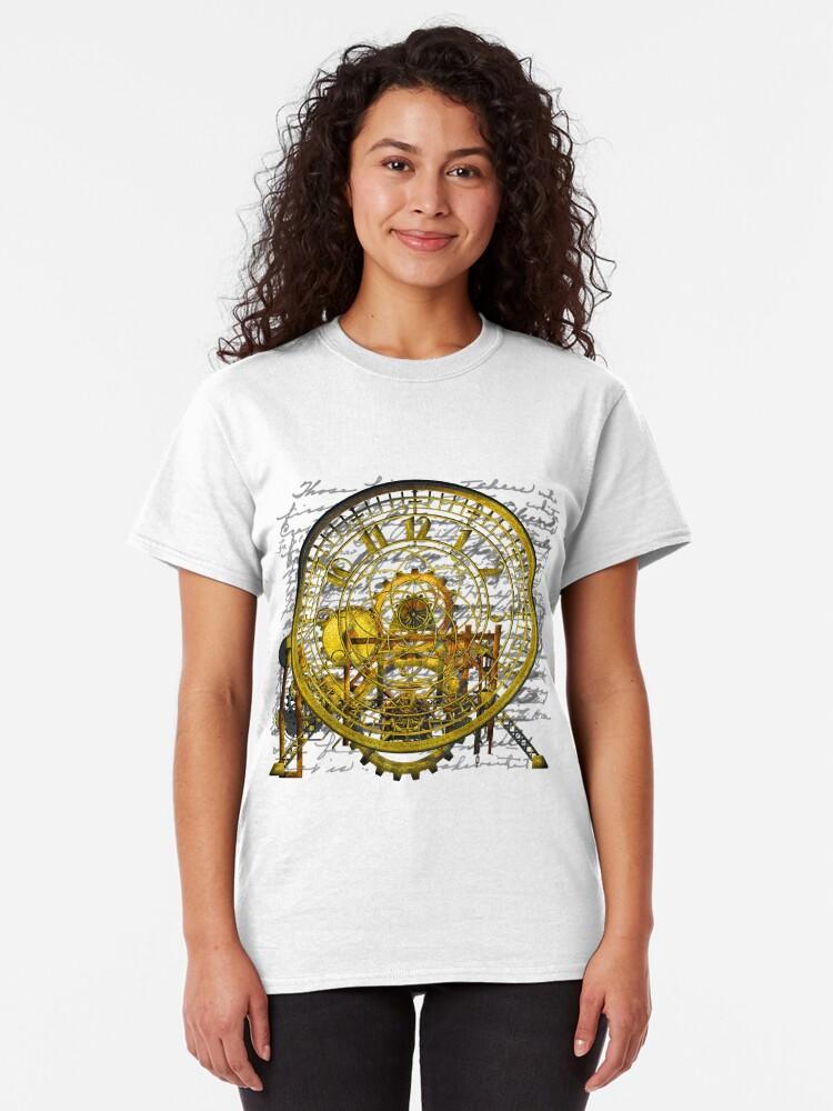Alternate view of Vintage Time Machine #1B Classic T-Shirt