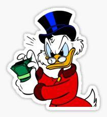 Scrooge McDuck Sticker