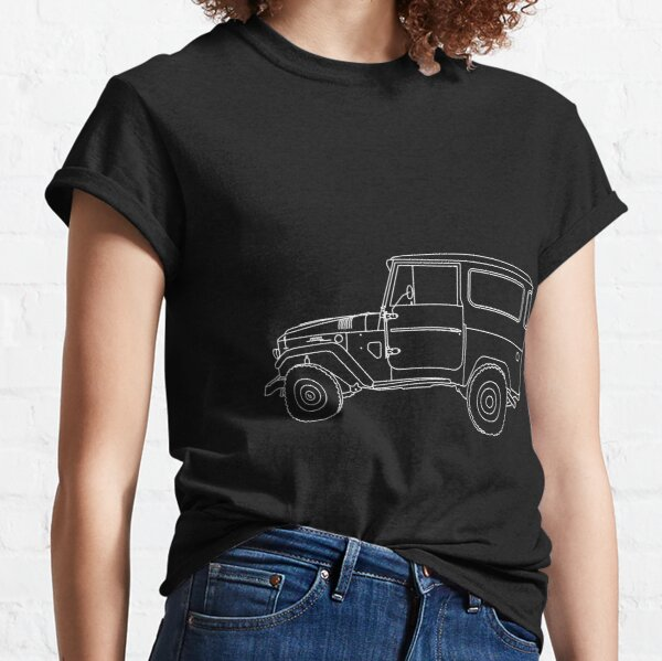 Shorty Forty Line Drawing Classic T-Shirt