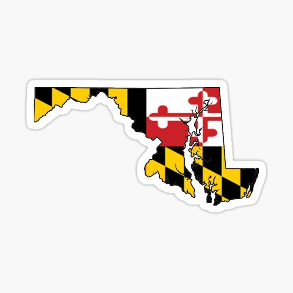 Maryland - Flag Sticker