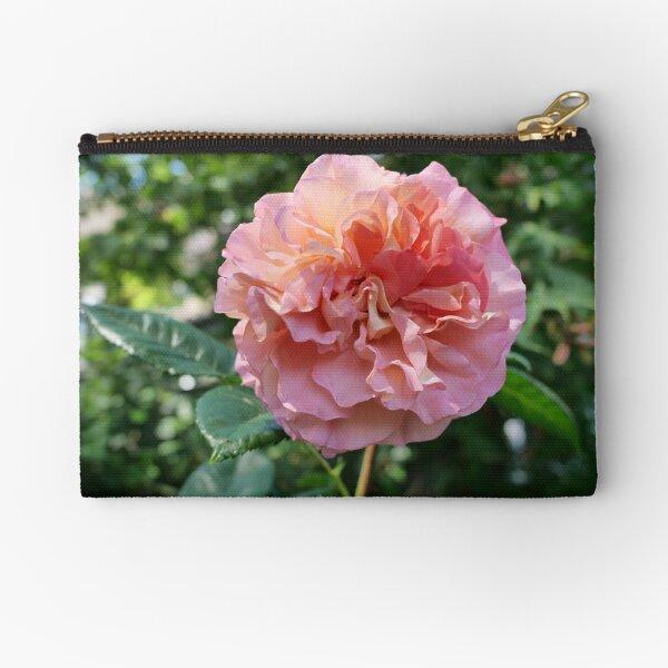 Fragrant Rachel Hybrid Tea Rose Zipper Pouch
