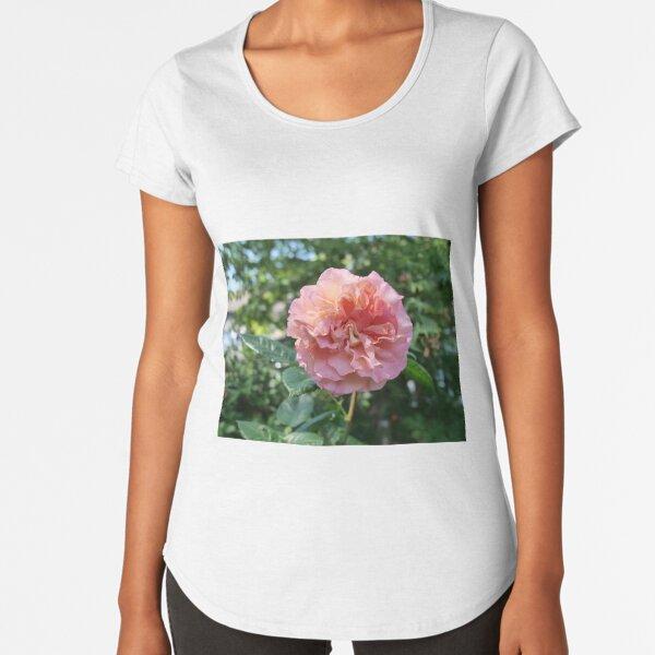 Fragrant Rachel Hybrid Tea Rose Premium Scoop T-Shirt