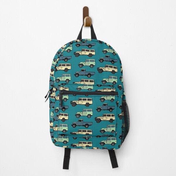40 Series Cartoon Collage Backpack