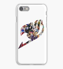 Fairy Tail GMG Characters Logo iPhone Case/Skin