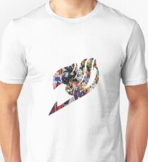Fairy Tail GMG Characters Logo Unisex T-Shirt