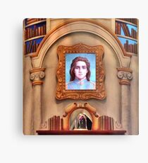 The Enchanted Library Metal Print