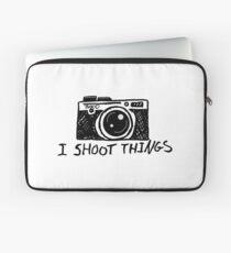 I Shoot Things Laptop Sleeve