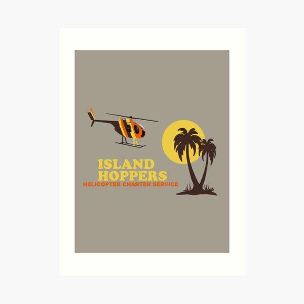 Island Hoppers Art Print