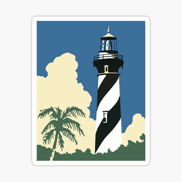 St. Augustine Lighthouse Florida Sticker
