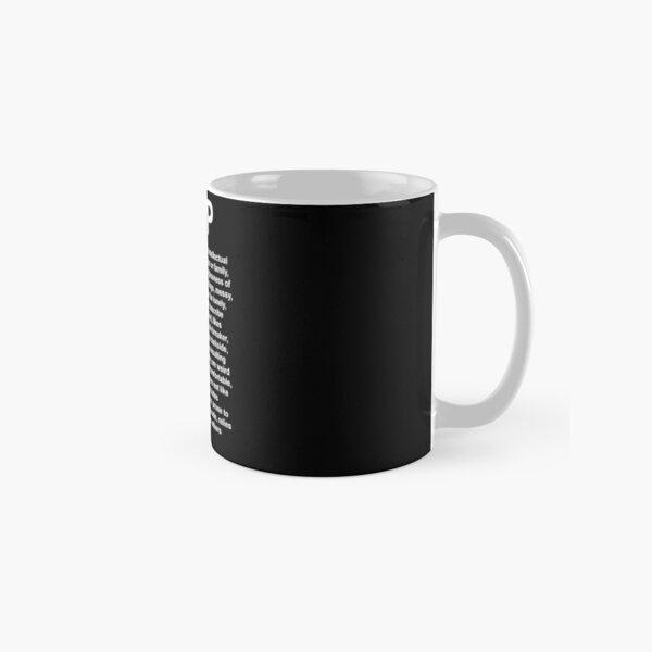 INTP - The Architech - DESCRIPTION Classic Mug