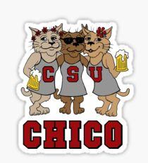 CSU CHICO - Wildcats Sticker