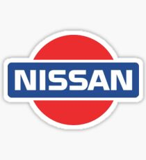 Retro Nissan Logo Sticker
