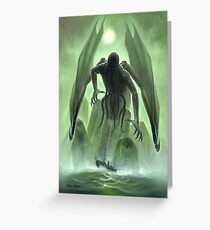 The Call of Cthulhu Greeting Card
