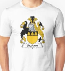 Graham Coat of Arms / Graham Family Crest Unisex T-Shirt