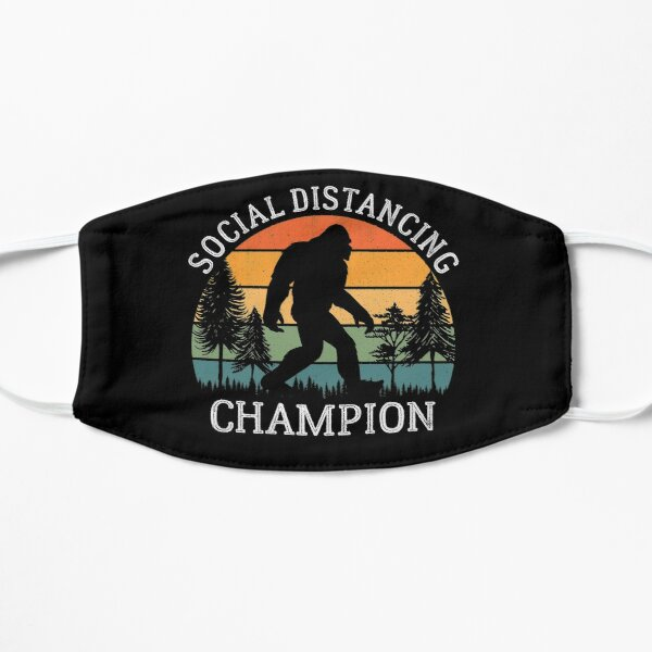 Social Distancing Champion Mask