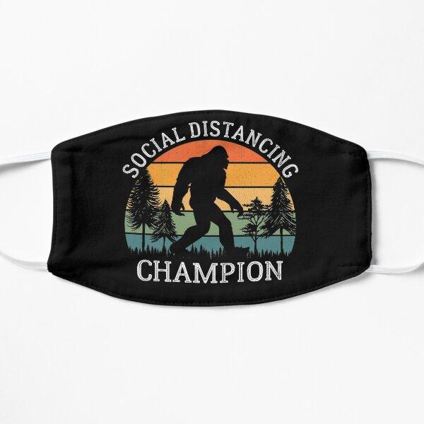 Campeón de distancia social Mascarilla