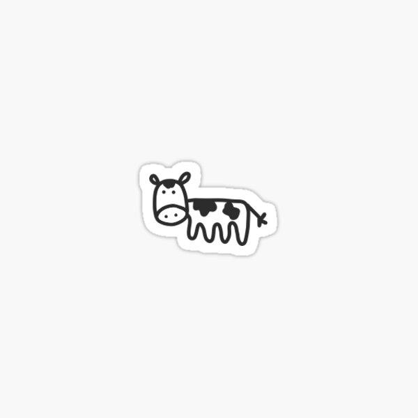 Mini vaca Pegatina