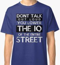 Sherlock - Don't Talk Out Loud... Classic T-Shirt