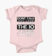 Sherlock - Don't Talk Out Loud... Kids Clothes