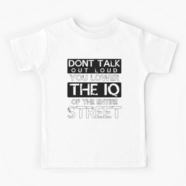 Sherlock - Don't Talk Out Loud... Kids T-Shirt