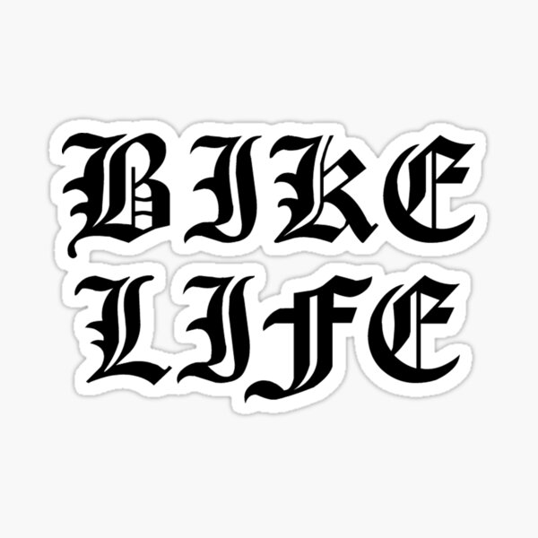 VIE BIKE Sticker