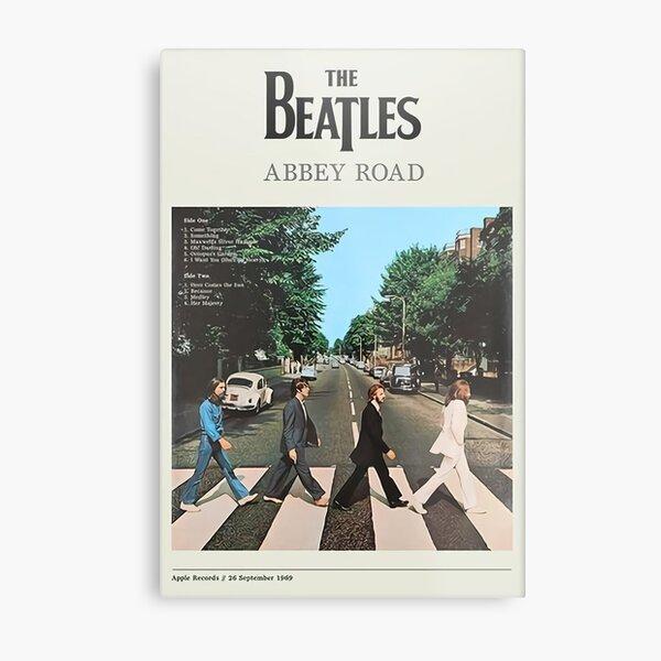 Abbey Road - The legend never die Metal Print