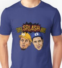 Steph Curry Klay Thompson Super Splash Bros Unisex T-Shirt