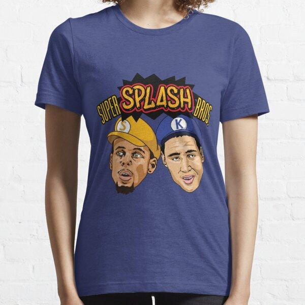 Steph Curry Klay Thompson Super Splash Bros Essential T-Shirt