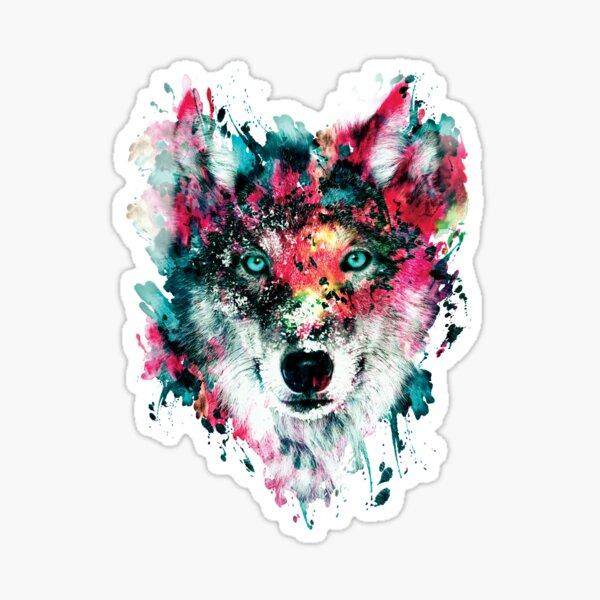 Wolf II Sticker