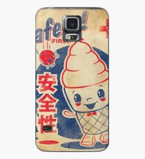 Retro Japanese AD Case/Skin for Samsung Galaxy