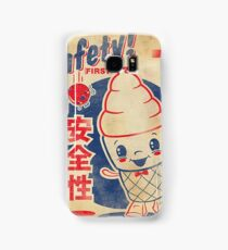 Retro Japanese AD Samsung Galaxy Case/Skin