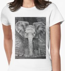 Sheltered Women's Fitted T-Shirt