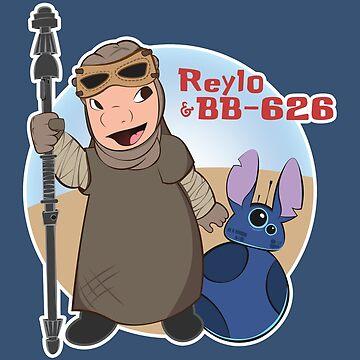 Reylo & BB-626 by PirateZomby