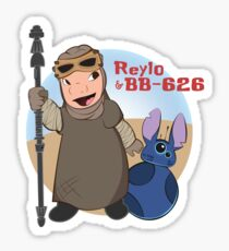 Reylo & BB-626 Sticker