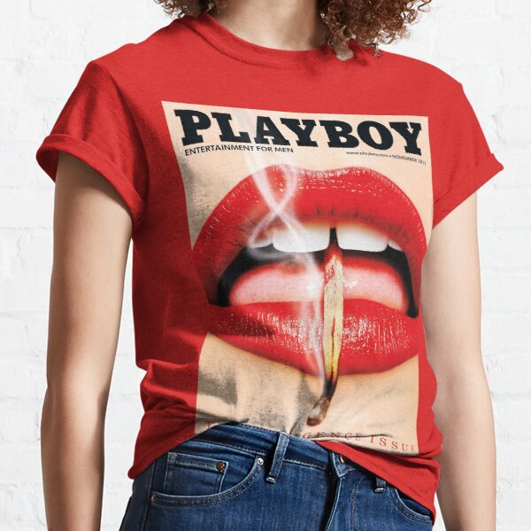 la question de l'indulgence playboy T-shirt classique