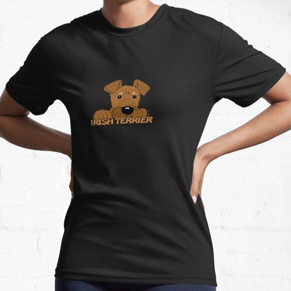 Cute Irish Terrier Active T-Shirt