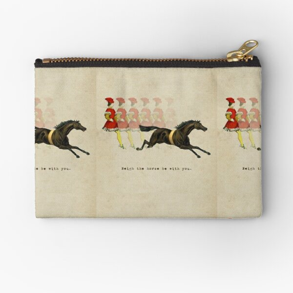 Neigh the Horse Be With You Zipper Pouch