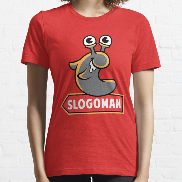 Logotipo de signo rojo Camiseta esencial