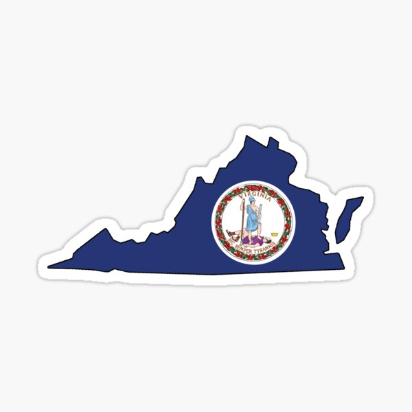Virginia - Flag Sticker