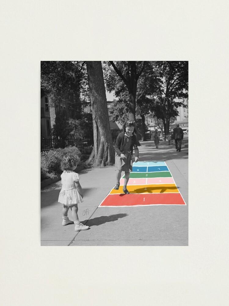 Alternate view of Hopscotch Photographic Print