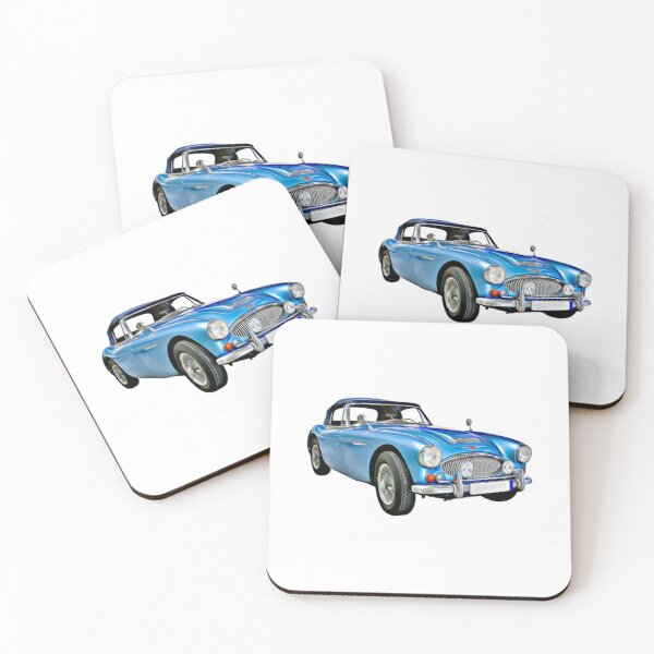 Classic Car Coasters (Set of 4)