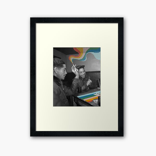 Know When To Fold Em Framed Art Print