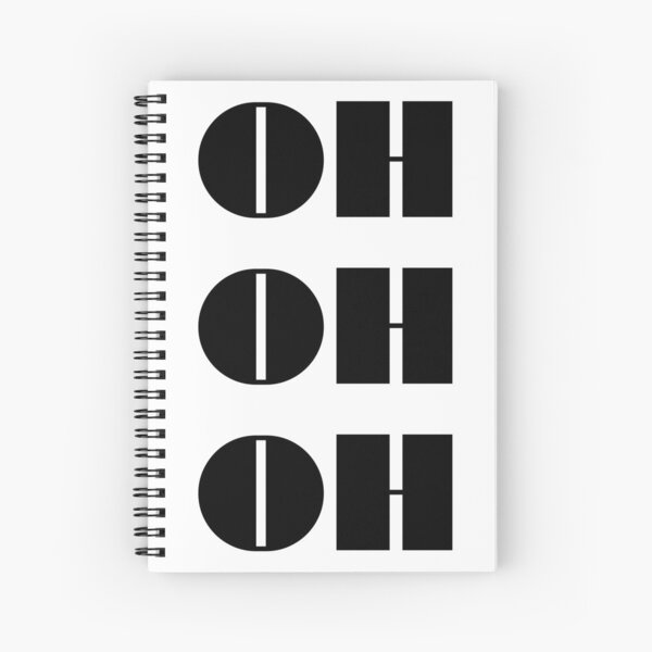 Eurovision 2021- Eurovision song contest - ESC fans - Oh Oh Oh - Eurovision song lyrics Spiral Notebook
