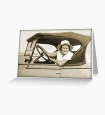 Rhoda's Runabout Greeting Card