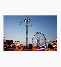 Evening At The Fair. Photographic Print