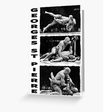 Georges St-Pierre Greeting Card