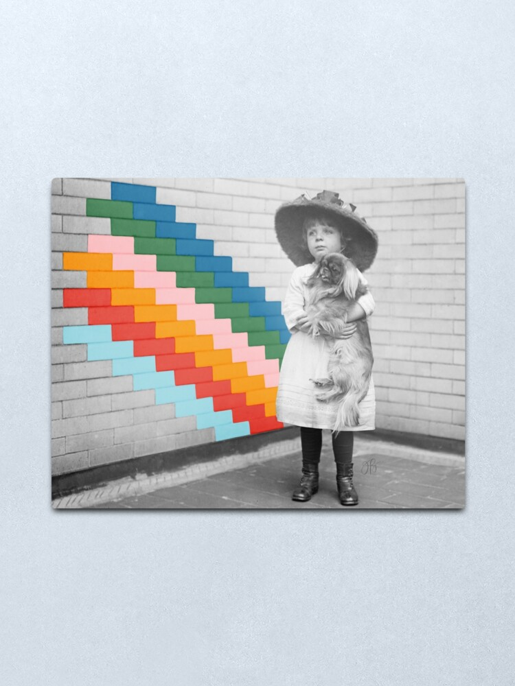 Alternate view of Somewhere Over the Rainbow Metal Print